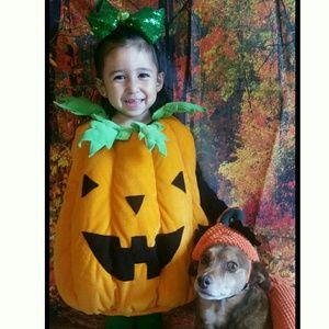 Cute Pumpkin Children Halloween Costume
